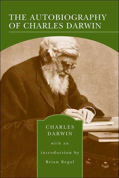 Charles Darwin autobiography, with Alfred Russel Wallace on the cover