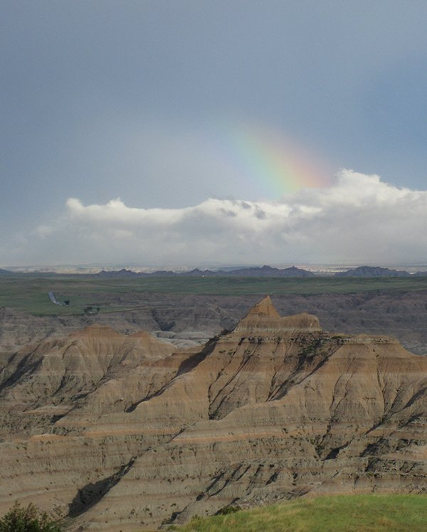 Rainbow over Badlands NP SD by Alex Young.jpg